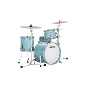 Ludwig Ludwig Neusonic Downbeat 3pc Shell Pack Skyline Blue