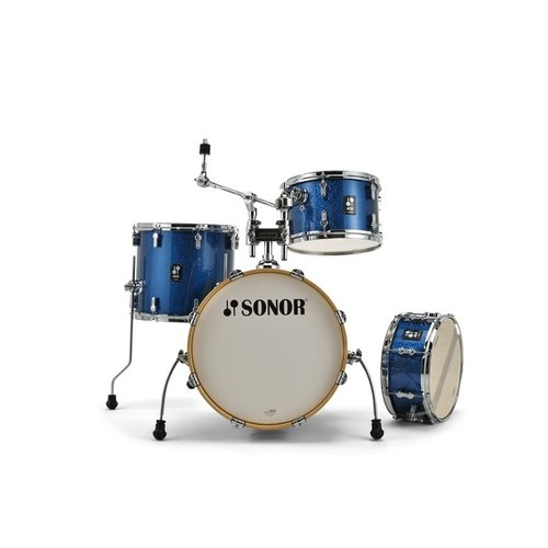 Sonor Sonor AQX Jazz 4pc Shell Pack - Blue Ocean Sparkle