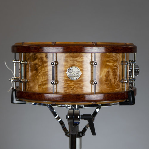 Doc Sweeney Doc Sweeney Coral Reef 14x6 Stave Quilted Maple Snare Drum