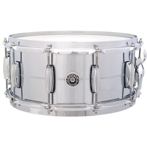 """Gretsch Gretsch Brooklyn Brass 6.5x14"""" Snare Drum - Chrome Over Brass"""