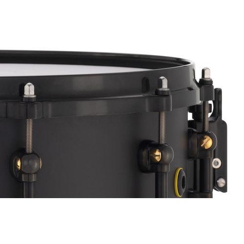 """Pearl Pearl Matt Halpern Signature 6x14"""" Black/Brass Snare Drum"""