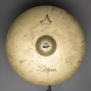 "Zildjian Used Zildjian 22"" A Custom Ride Cymbal"