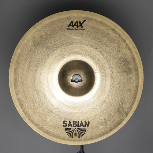 "Sabian Used Sabian AAX X-Plosion 21"" Ride Cymbal"