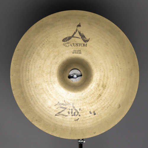 """Zildjian Used Zildjian 16"""" A Custom Crash Cymbal"""