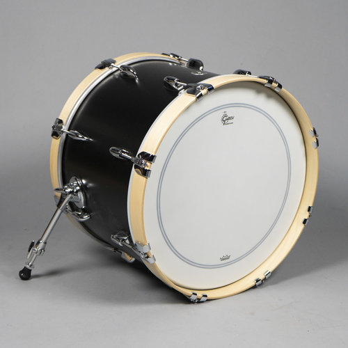 "Gretsch Gretsch Brooklyn 20"" Bass Drum in Satin Black Metallic"