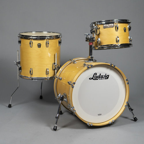 Ludwig Used Ludwig Classic Maple Jazzette 3pc Shell Pack-Natural Maple