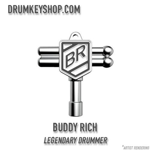 Drum Key Shop Buddy Rich Signature Chrome Drum Key