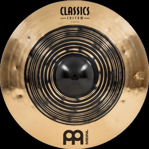"Meinl Meinl Classics Custom Dual 20"" Crash"