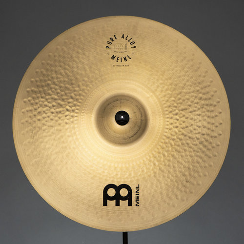 "Meinl Used Meinl 22"" Pure Alloy Medium Ride Cymbal"