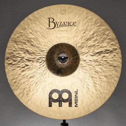 "Meinl Meinl 21"" Byzance Traditional Polyphonic Ride"