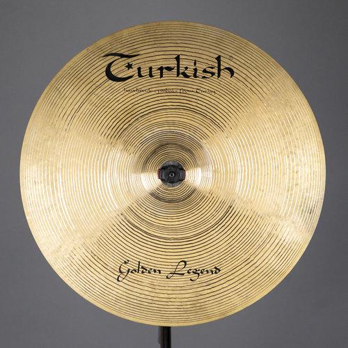 "Turkish Used Turkish Golden Legend 17"" Crash Cymbal"
