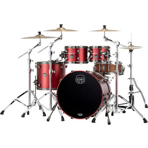 Mapex Mapex Saturn Evolution Classic Maple 4pc Shell Pack Tuscan Red