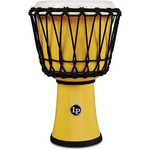 """LP LP 7"""" Rope Circle Djembe Yellow"""