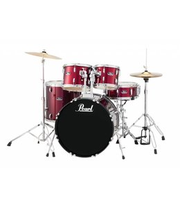 Pearl Pearl RS Road Show 5pc Rock Drumset w/ Cymbals & Hardware