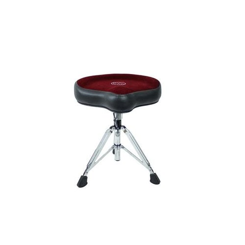 Roc-N-Soc Roc n Soc Manual Spindle Throne with Red Hugger Top