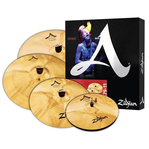 "Zildjian Zildjian A Custom Box Set w/ Free 18"" Crash"