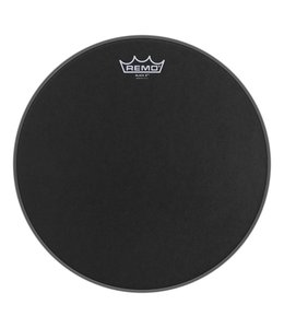 Remo Remo Black X Drumhead w/ Bottom Black Dot Bottom