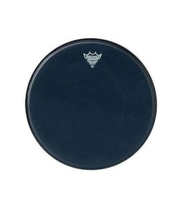 Remo Remo Black Suede Ambassador Drumhead w/ Bottom Black Dot