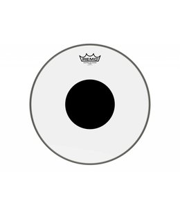 Remo Remo Clear Controlled Sound Bass Drumhead w/ Top Black Dot