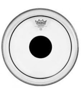 Remo Remo Clear Pinstripe Drumhead w/ Black Dot