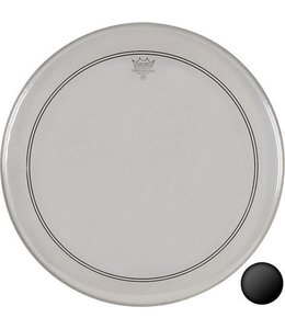 Remo Remo Clear Powerstroke 3 Bass Drumhead w/ 2-1/2'' Impact Patch