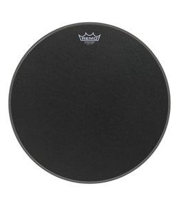 Remo Remo Black Suede Ambassador Powerstroke 3 Bass Drumhead