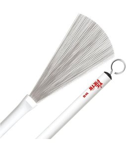 Vic Firth Vic Firth Jazz Brush White Plastic Handle