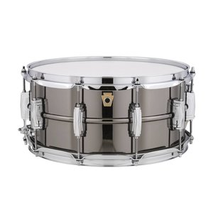 "Ludwig Ludwig 6.5x14"" Black Beauty Supraphonic Snare Drum"