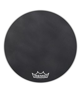 Remo Remo Black Suede Powermax Marching Bass Drumhead