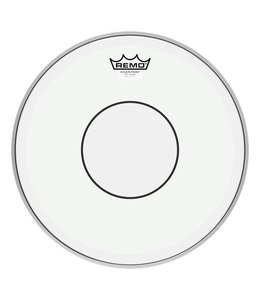 Remo Remo Clear Powerstroke 3  w/ Clear Top Side Dot