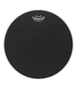 Remo Remo Black Suede Emperor Crimplock Marching Drumhead