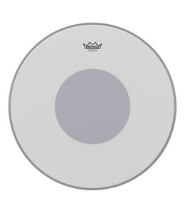 Remo Remo Coated Powerstroke 3 Bass Drumhead w/  No Stripe and Bottom Black Dot