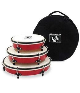 LP LP World Beat Plenera Drums Set Of 3
