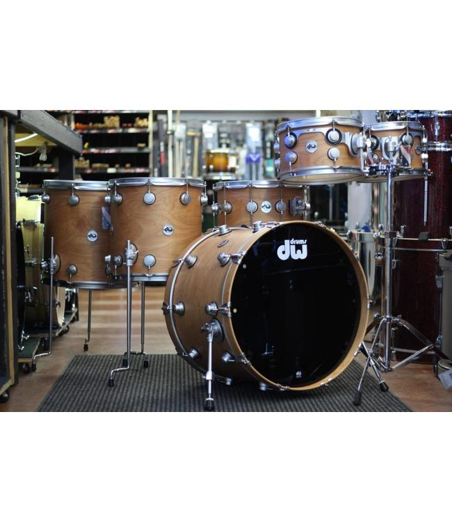 DW DW Collector's Series Pure Birch 6pc Shell Pack w/Satin Chrome Hardware