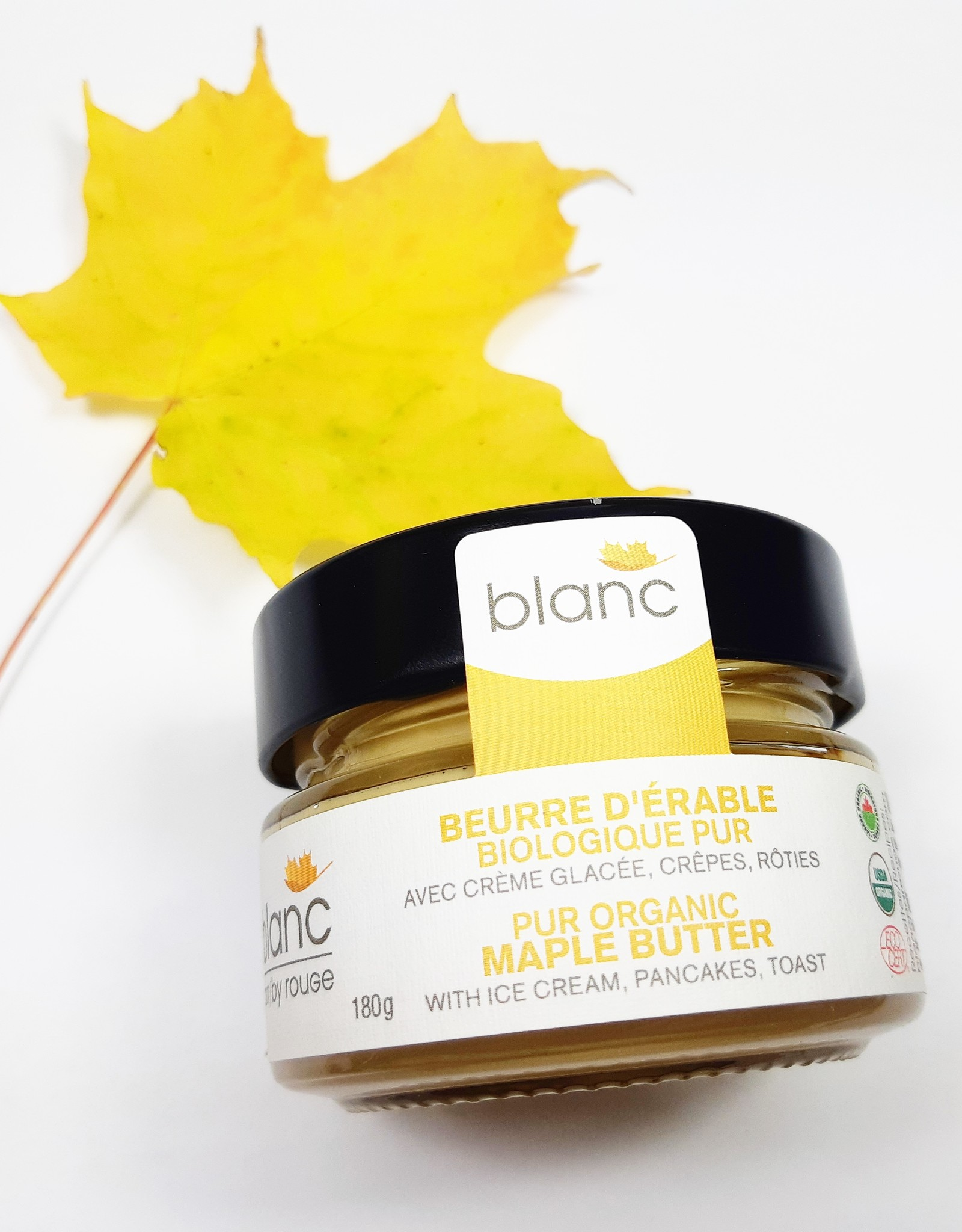 blanc par rouge - Organic Maple Butter