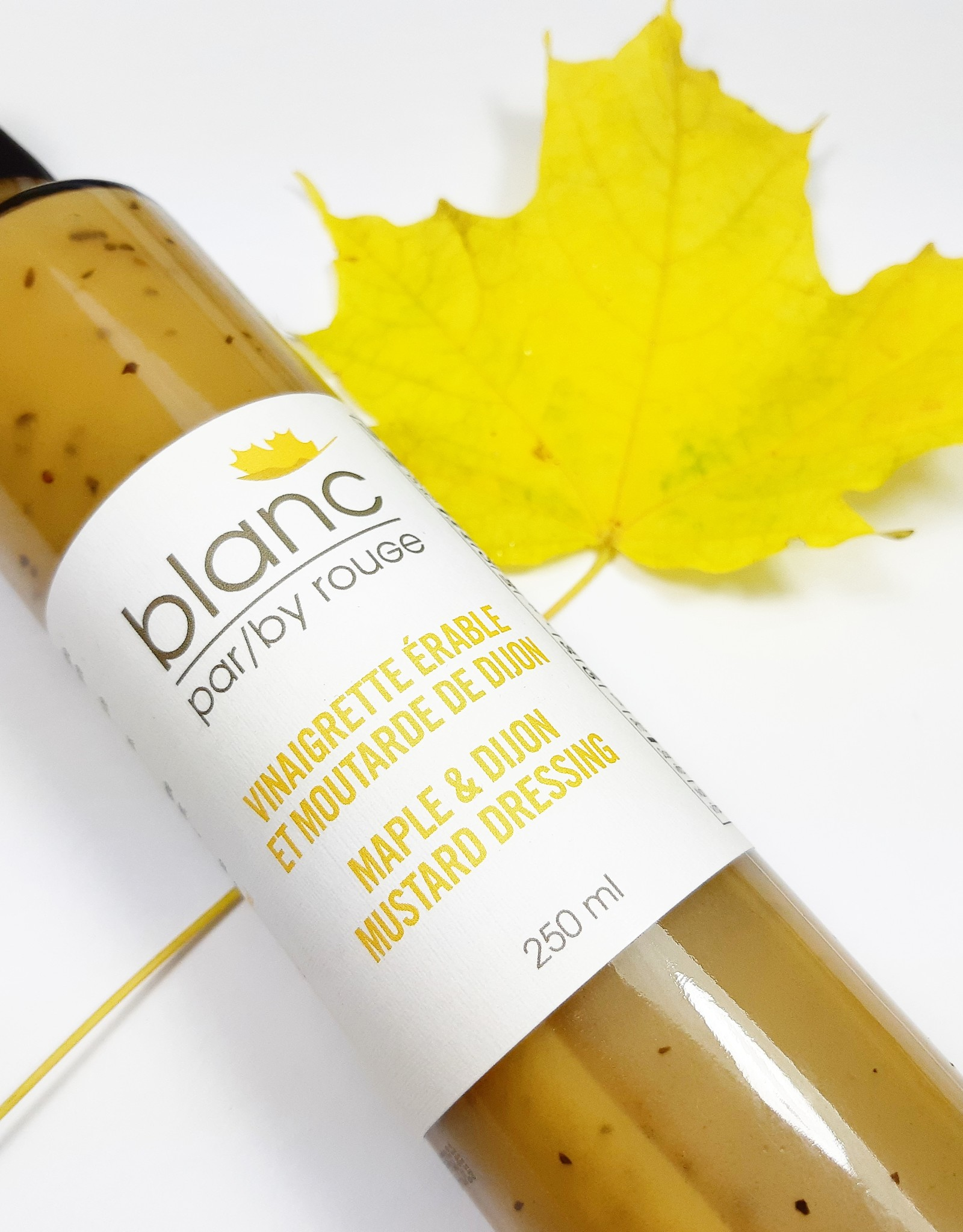 Vinaigrette érable et moutarde de Dijon