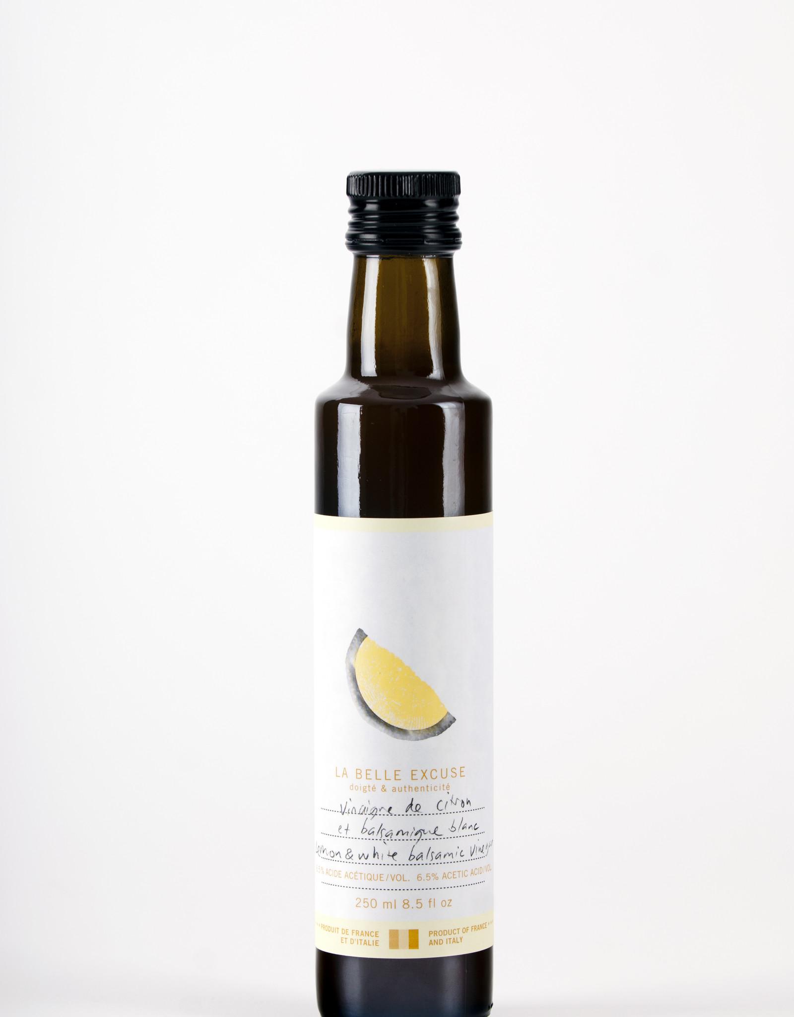Lemon and White Balsamic Vinegar