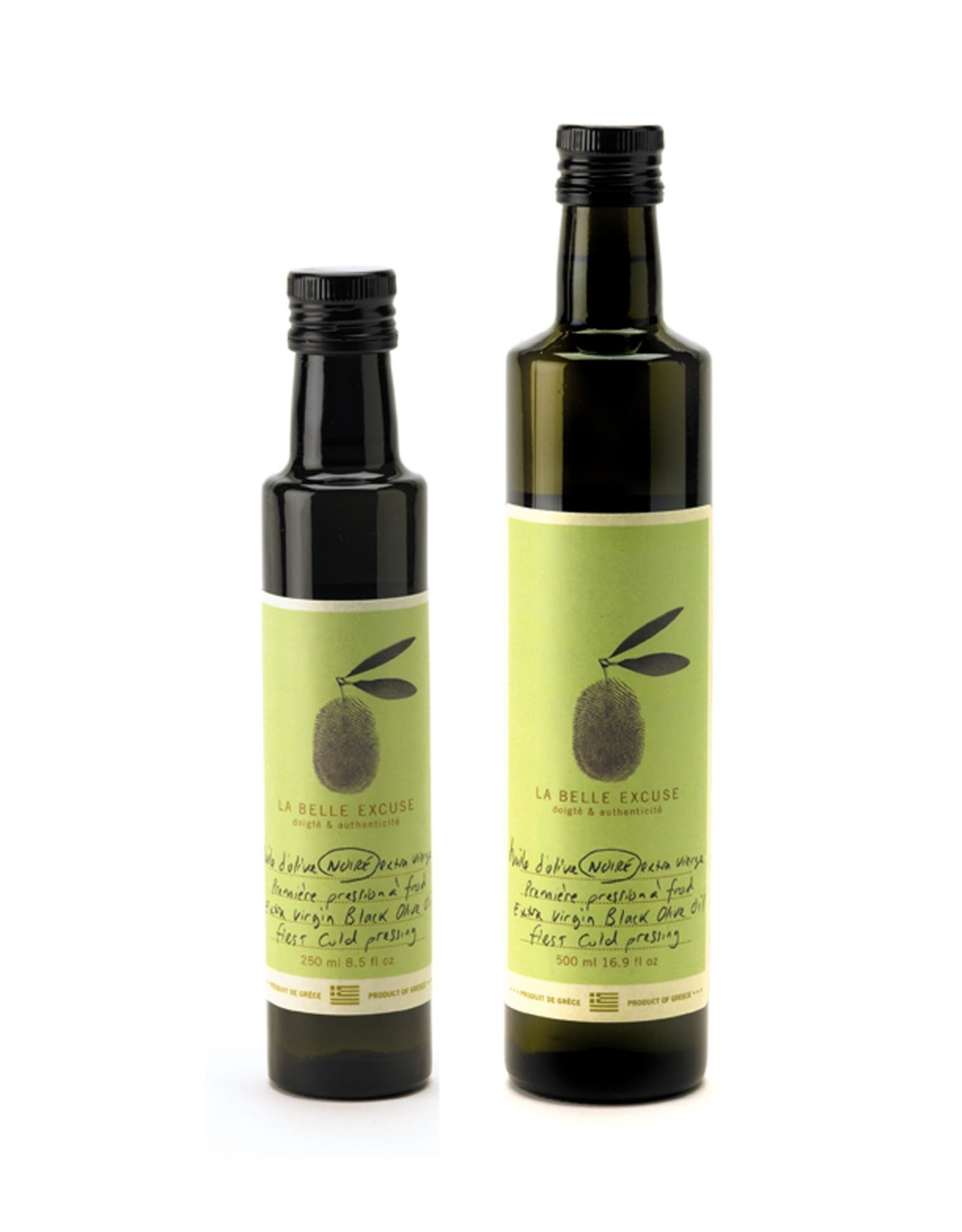 La Belle Excuse - Huile d'olives noires 500 ml
