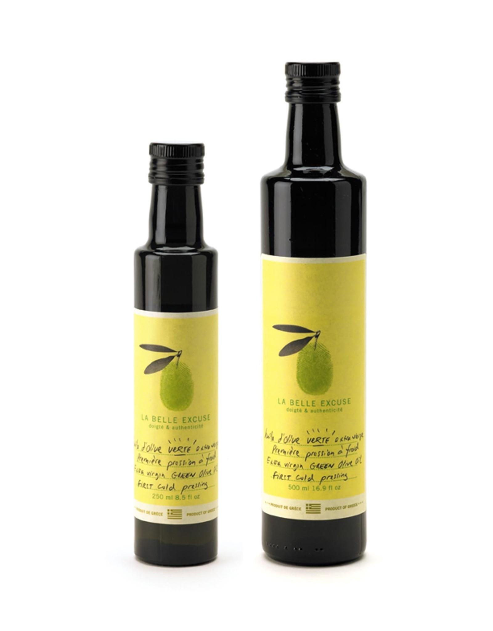 La Belle Excuse - Huile d'olives vertes 500 ml