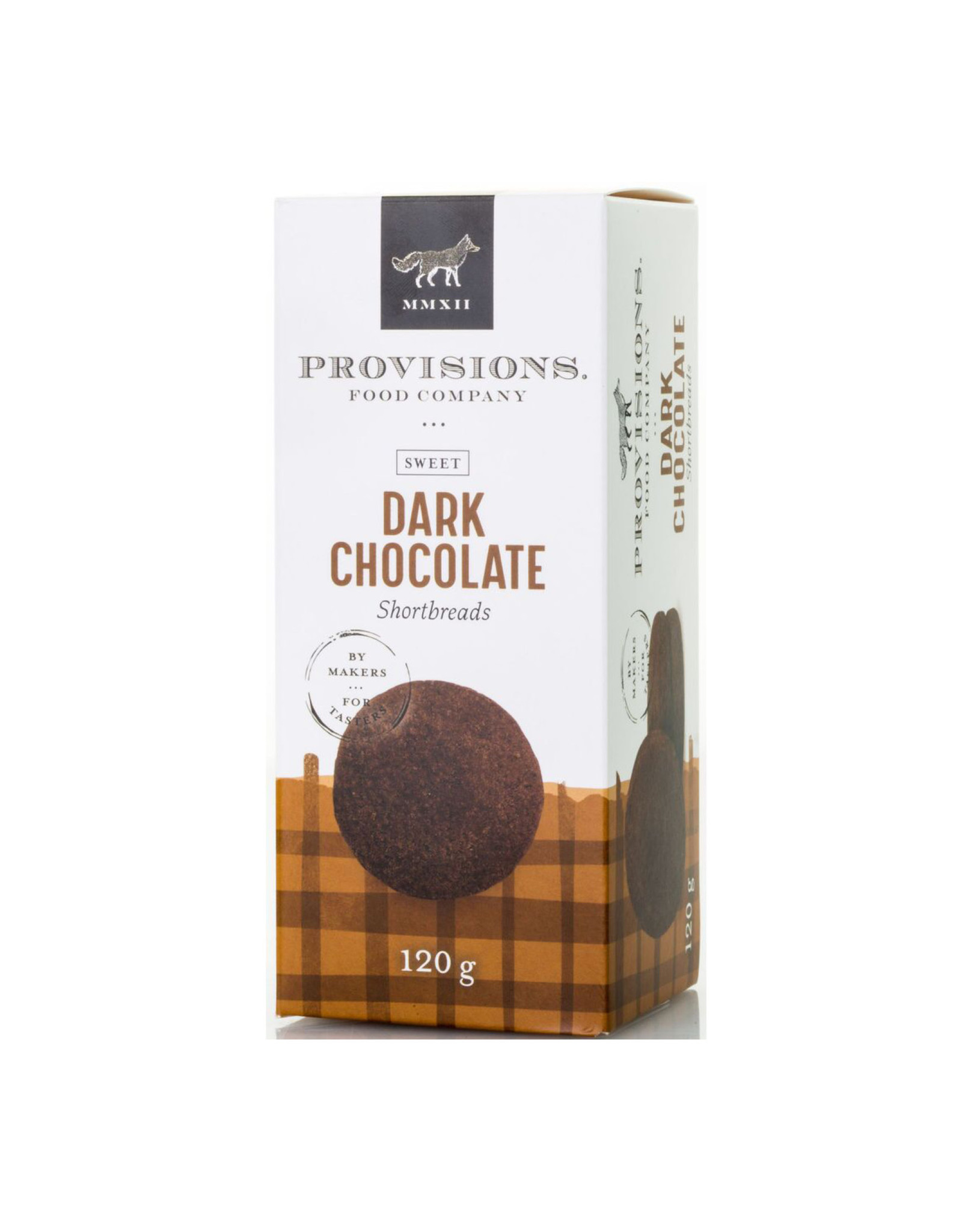 Provisions Food Company - Dark Chocolate Shortbreads