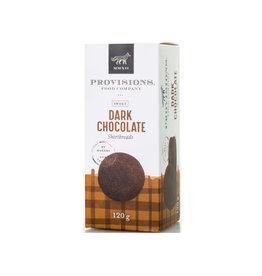 Sablés au chocolat noir