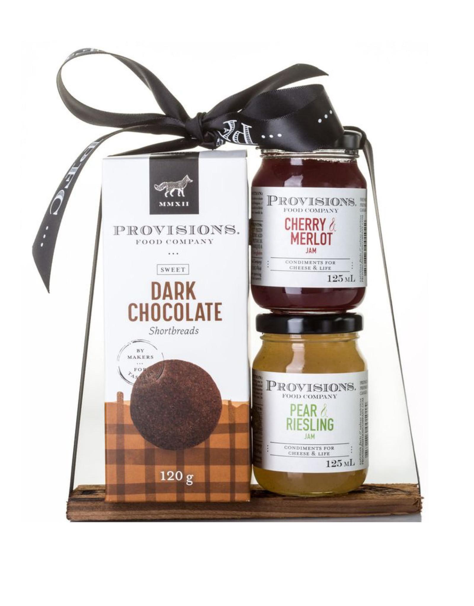 Provisions Food Company - Ensemble cadeau bec sucré