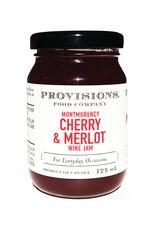 Provisions Food Company - Confiture de cerises & merlot
