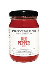 Provisions Food Company - Gelée de poivrons rouges