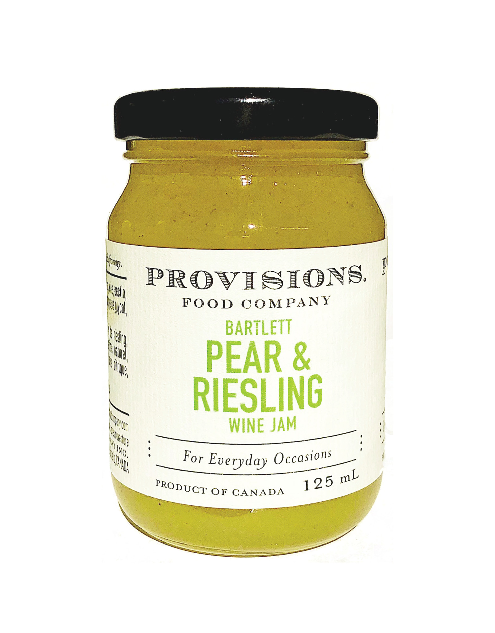Provisions Food Company - Confiture de poires & riesling