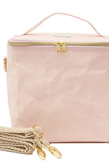 Blush Pink Paper Lunch Poche