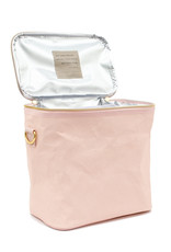 Lunch Poche en papier rose blush
