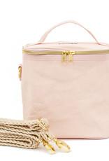 Petite Poche en papier rose blush