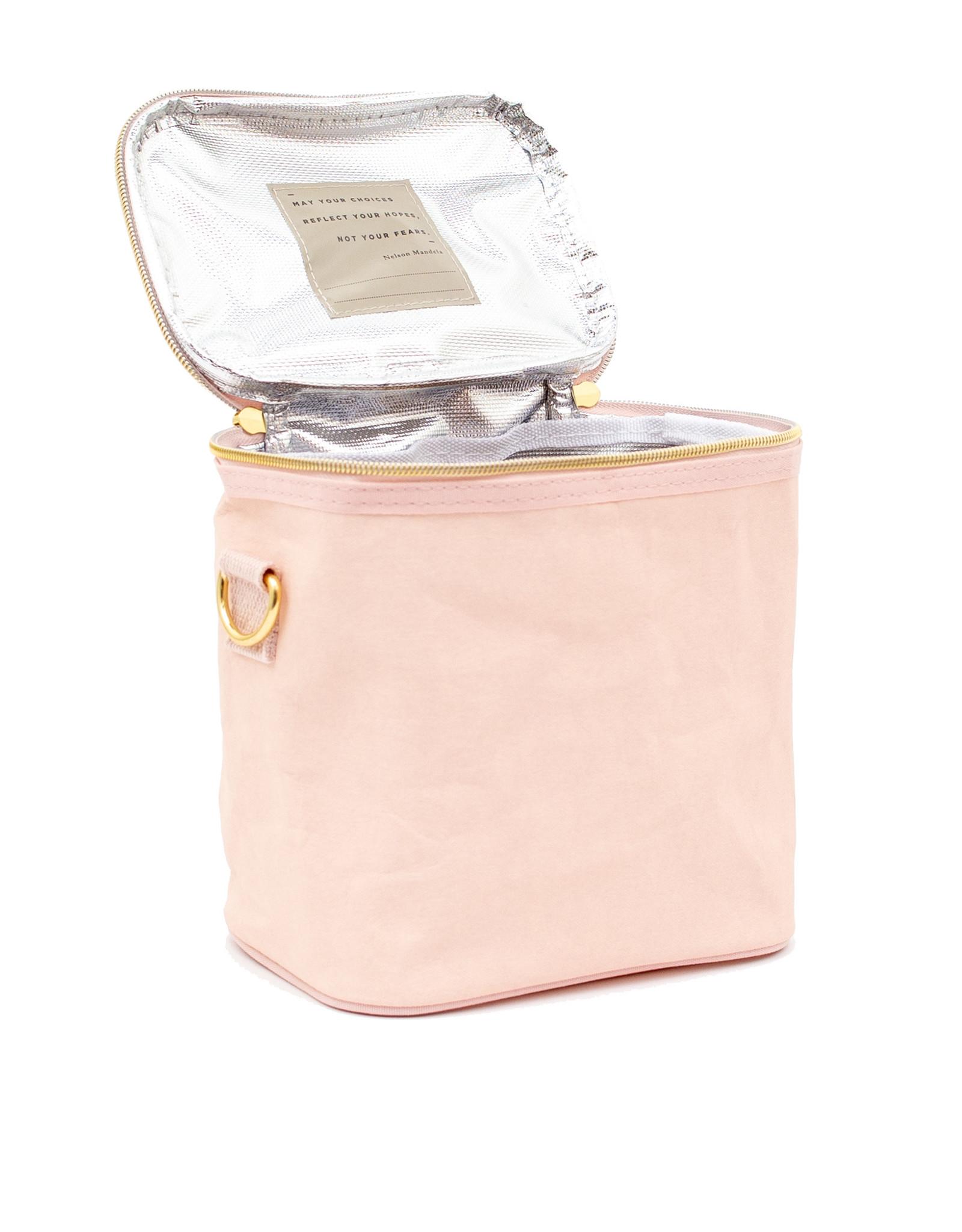 Blush Pink Paper Petite Poche