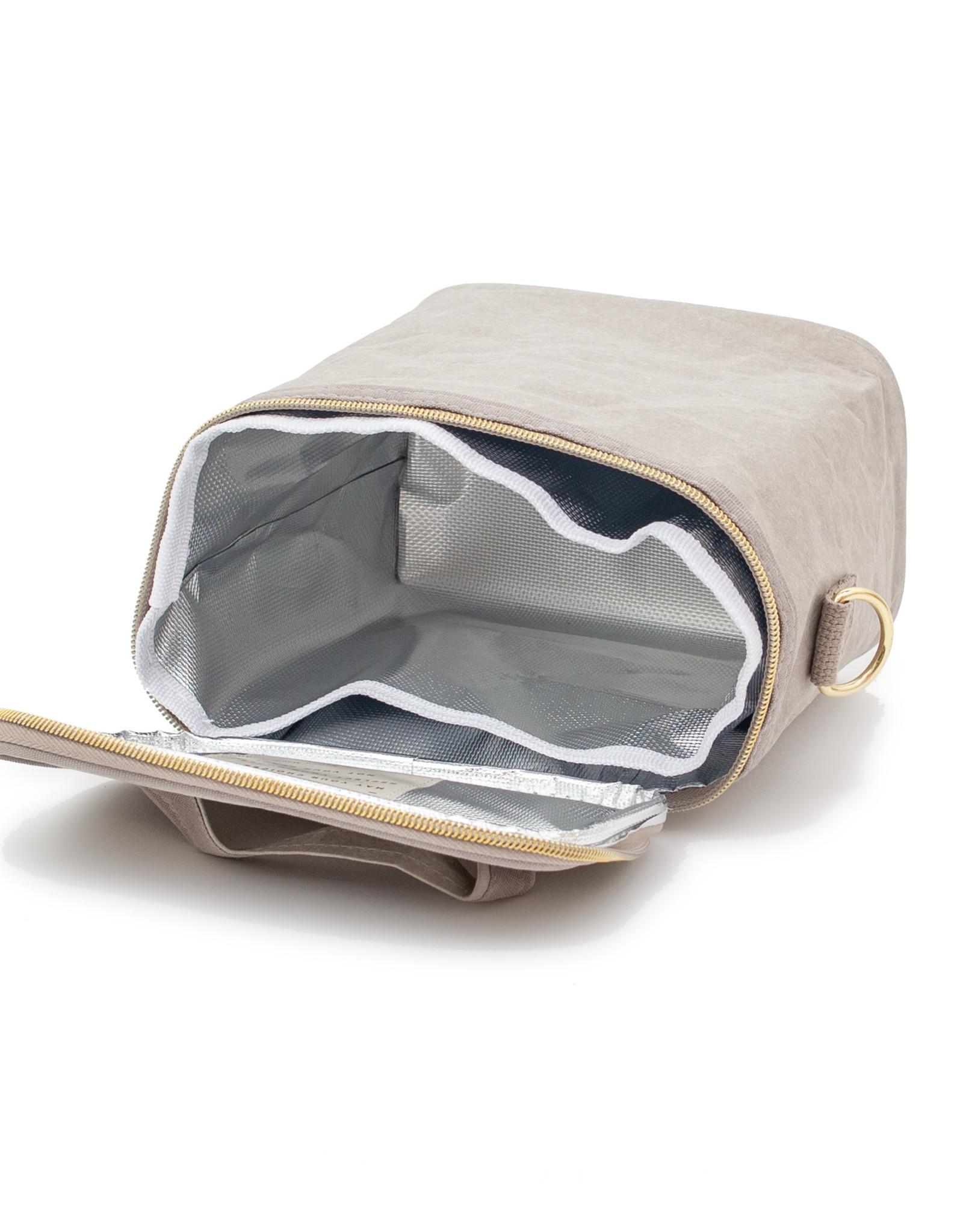 Stone Grey Paper Petite Poche